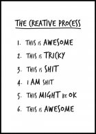The Creative Process Plakat