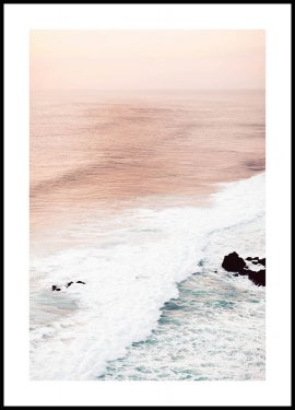 Pastel Waves Plakat