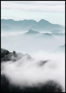 Misty Mountains Plakat