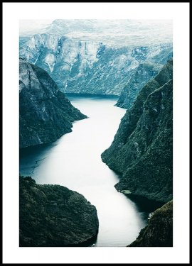 Scandinavian Nature Plakat