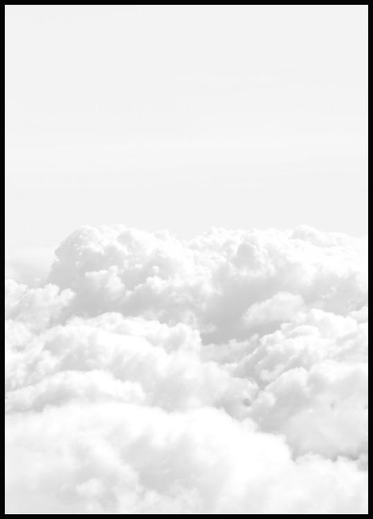 Above the Clouds Plakat