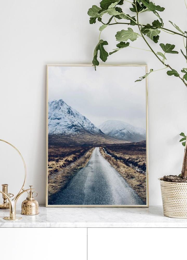 Mountain Road Plakat