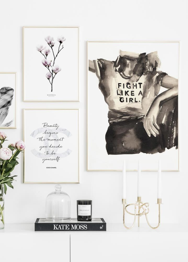 Fight like a Girl Plakat